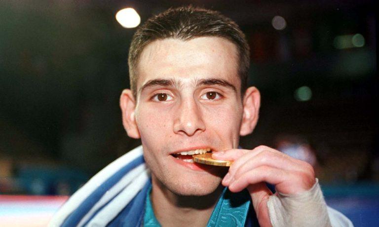 Ο Μιχάλης Μουρούτσος χρυσός Ολυμπιονίκης (vid)