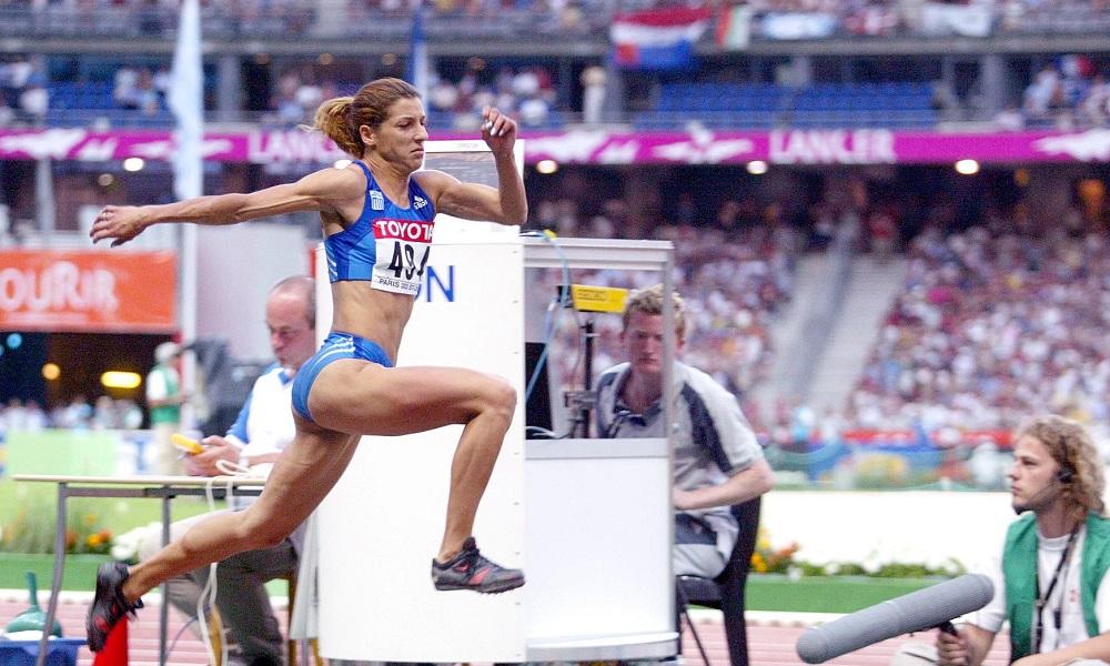 Όλγα Βασδέκη: Η πρωταθλήτρια σταρ των αλμάτων