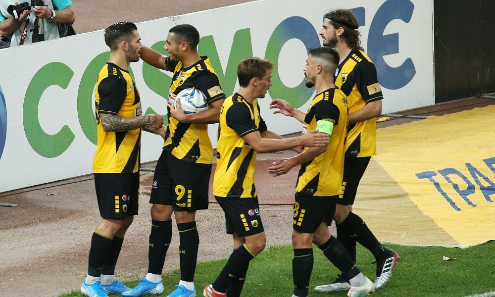 ΑΕΚ-Λαμία 2-0: Λιβάια τα κάνει… όλα!