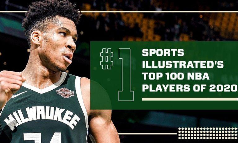 Sports Illustrated: Στο Νο1 του Top-100 o Γιάννης – Εκθρόνισε τον ΛεΜπρόν! (pic)