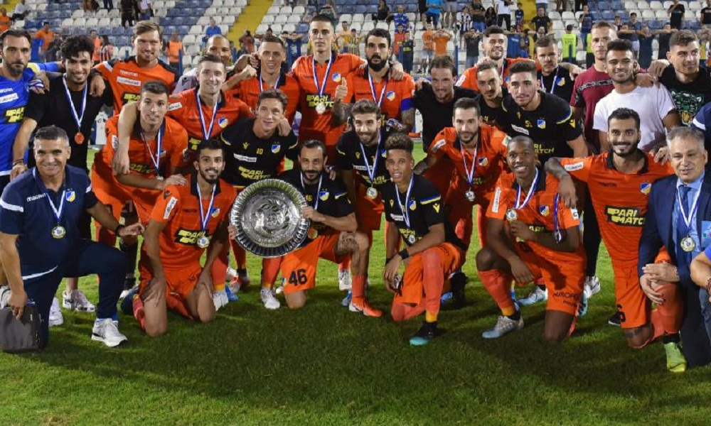 ΑΠΟΕΛ – ΑΕ Λεμεσού 1-0: Πανηγύρισε το 14ο Σούπερ Καπ (vids)