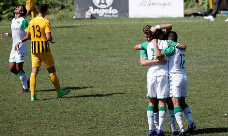 Super League K19: Άρης – Παναθηναϊκός 1-2