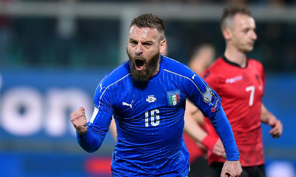 «Επιστροφή Ντε Ρόσι στην Εθνική Ιταλίας»