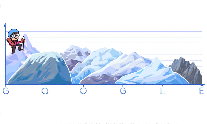 Google Doodle 22/9: Αφιερωμένο στην Junko Tabei - Sportime.GR