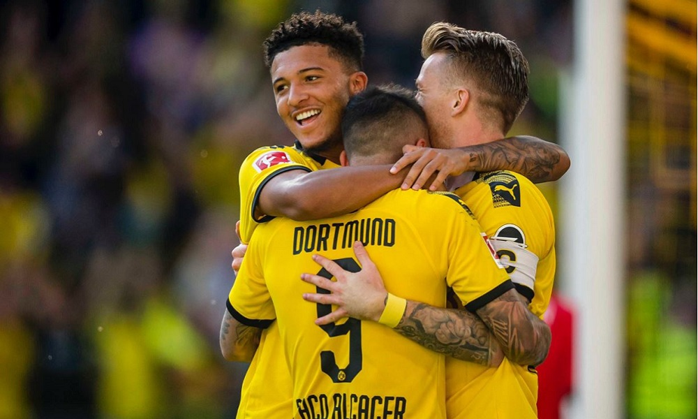 Bundesliga: «Τεσσάρα» η Ντόρτμουντ (vids)
