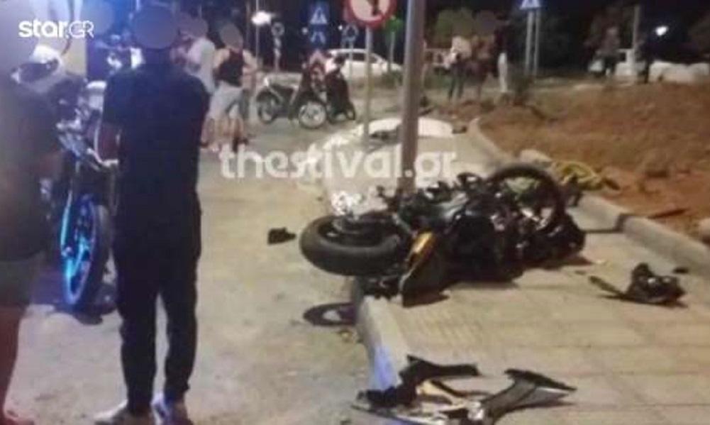 Πολίχνη: Νεκροί οι αναβάτες μηχανής-Σκοτώθηκε ο σύντροφός της πριν γεννήσει (vid)