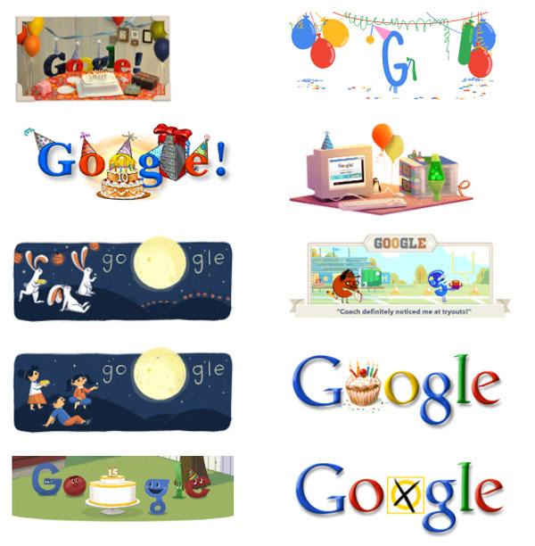 Ένα doodle αφιερωμένο στην... Google!