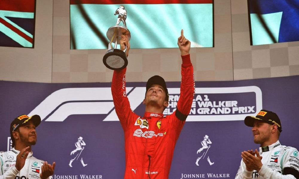 Formula 1: Δάκρυα στην πρώτη νίκη του Σαρλ Λεκλέρ (vid)