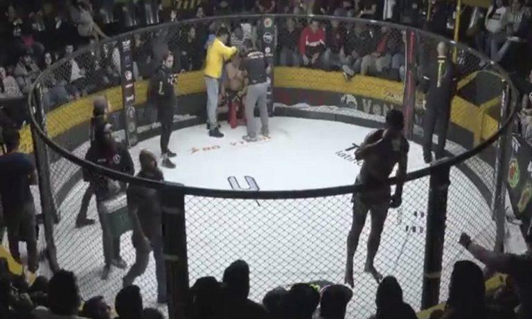 MMA: Ζήτησε και ήπιε μπύρα την ώρα του αγώνα (vid)