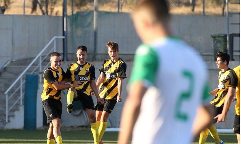 Super League Κ17: Παναθηναϊκός – ΑΕΚ 0-2