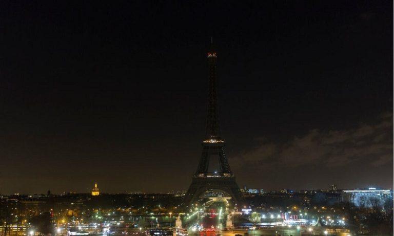 «Σκοτεινιάζει» ο Πύργος του Άιφελ λόγω Σιράκ