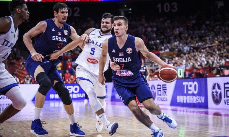 Ιταλία – Σερβία 77-92: Προελαύνουν με «μπόμπερ» Μπογκντάνοβιτς!