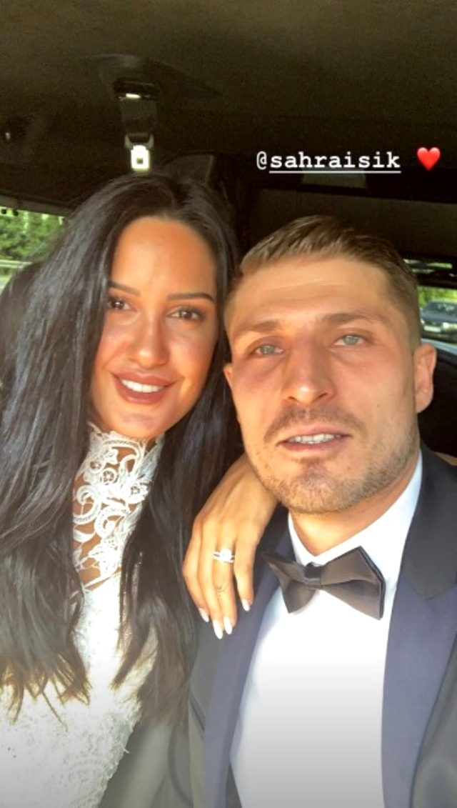 «Αστραφτερή» στον γάμο της πρώην παίκτρια
