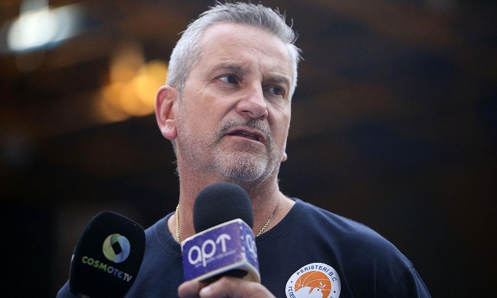 Ζούρος: «Στόχος μας η παραμονή στη Basket League»