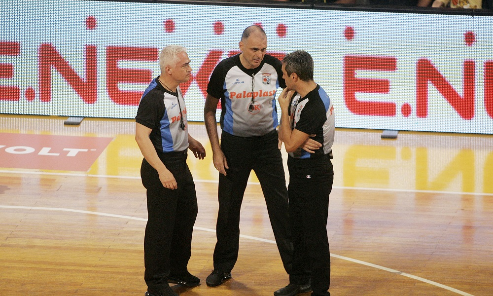 Basket League: Χωρίς τους διαιτητές του Άρης-ΠΑΟΚ η 2η αγωνιστική