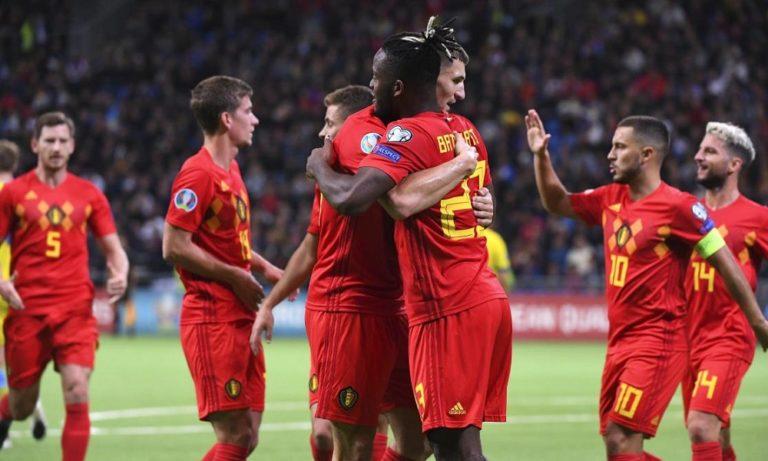 Προκριματικά Euro 2020: 8 στα 8 το ασταμάτητο Βέλγιο!