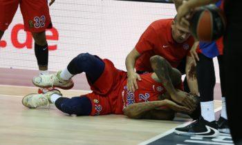 ΤΣΣΚΑ Μόσχας: Χάνει τη σεζόν ο Κλάιμπερν με ρήξη χιαστού!