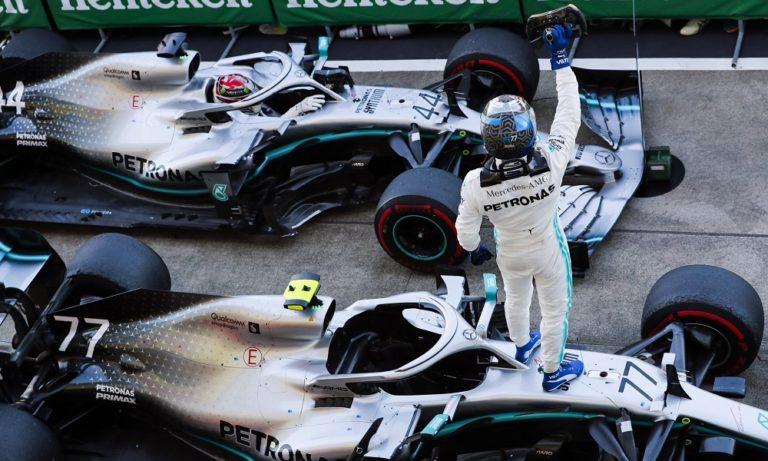 GP Ιαπωνίας: Νίκη για Μπότας, πρωτάθλημα για Mercedes