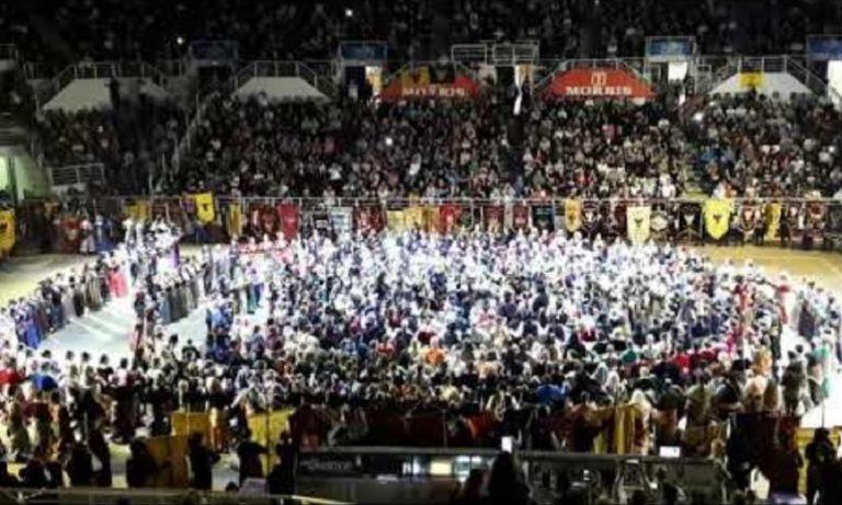«Σείστηκε» το γήπεδο του ΠΑΟΚ από 2.500 Πόντιους χορευτές! (vid)