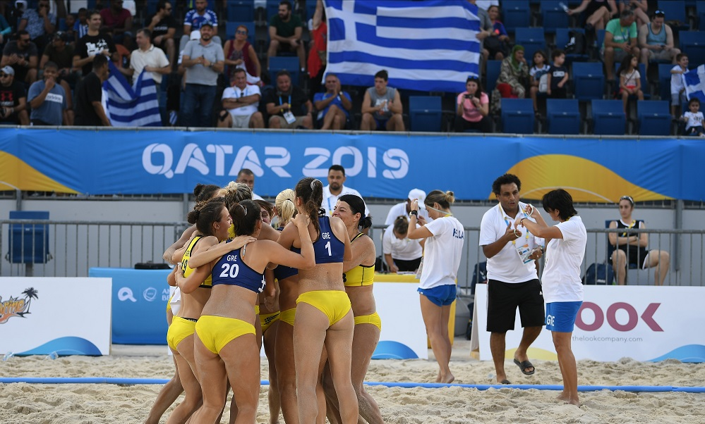 Beach Handball: Πρωτιά για την Εθνική Γυναικών, με Ουγγαρία στους «8»