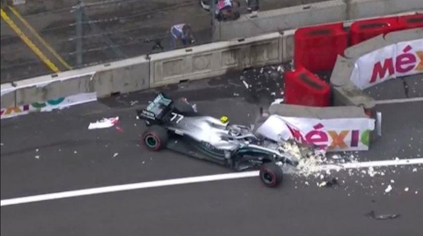 F1: Ατύχημα που σοκάρει με Μπότας (vid)