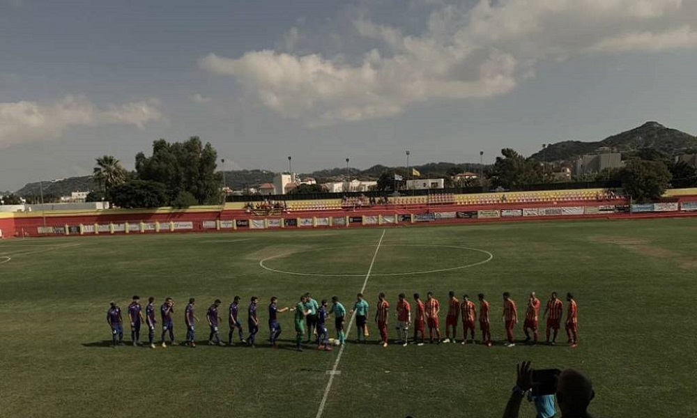 Ιάλυσος – Κέρκυρα 1-0: Πρόκριση για τους Ροδίτες