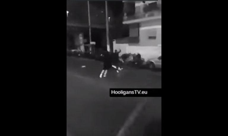 Βίντεο – σοκ από «μάχη» χούλιγκανς στα Πετράλωνα!