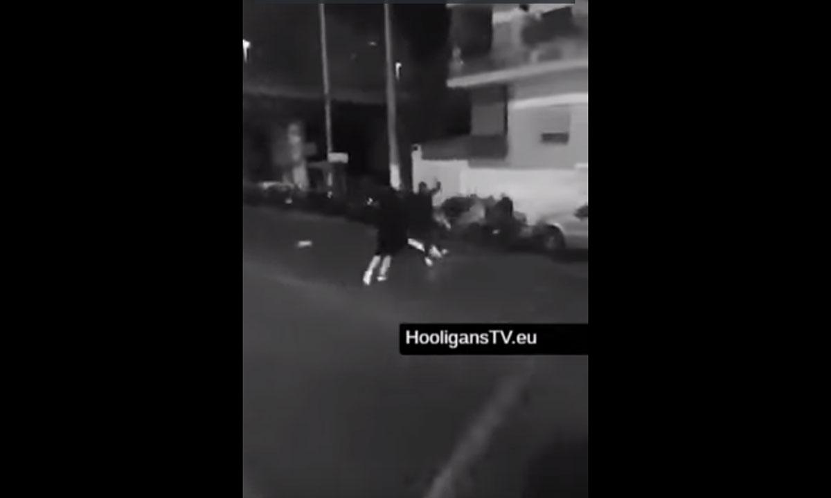 Βίντεο - σοκ από «μάχη» χούλιγκανς στα Πετράλωνα!