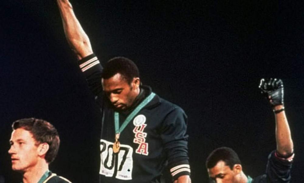 Ο χαιρετισμός που συγκλόνισε στους Ολυμπιακούς του '68 (vid)