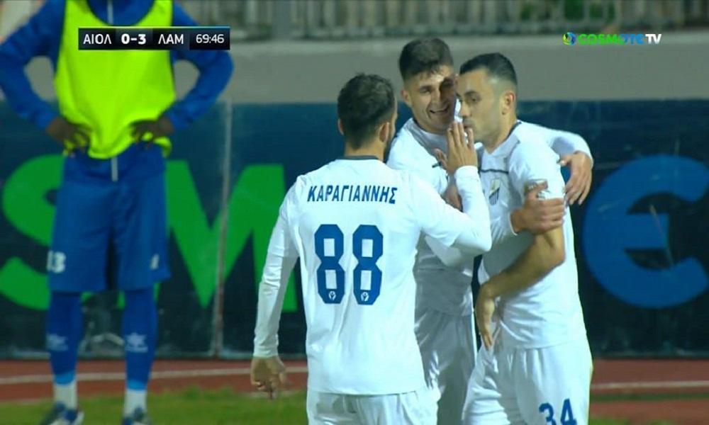 Αιολικός – Λαμία 0-3: Εύκολα οι Φθιώτες, «πρώτη» φετινή νίκη (vids) - Sportime.GR
