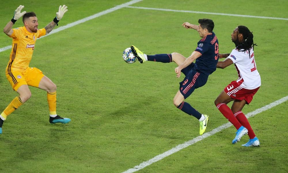 Ολυμπιακός – Μπάγερν: Το γκολ του Λεβαντόφσκι με γραμμή οφσάιντ (vid)