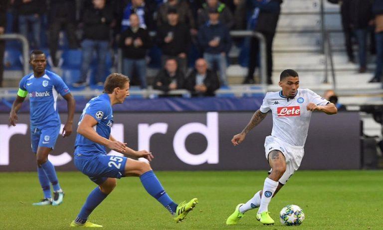 Γκενκ – Νάπολι 0-0: Την σταμάτησαν τα δοκάρια (vid)