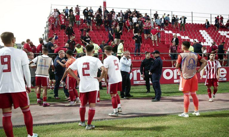 Ολυμπιακός – Μπάγερν: Έπαιζαν πάσες οι ποδοσφαιριστές μέχρι να λήξει (vid)