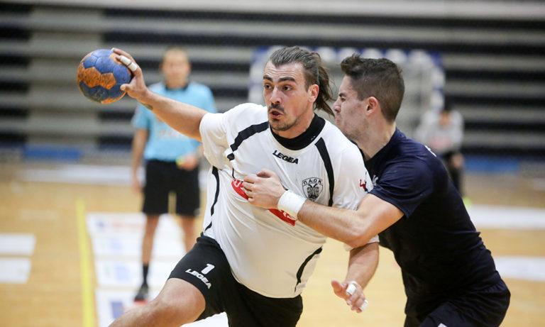 Handball Premier: Ισόπαλο το ντέρμπι Δούκας – ΠΑΟΚ