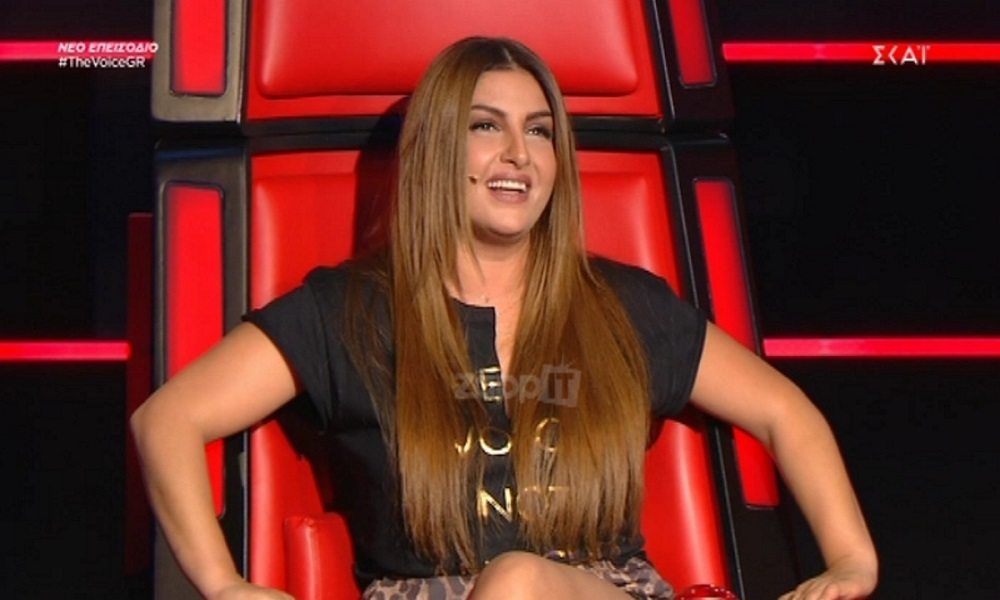 The Voice: Η ερμηνεία που έκανε την Έλενα Παπαρίζου να δακρύσει (vid)