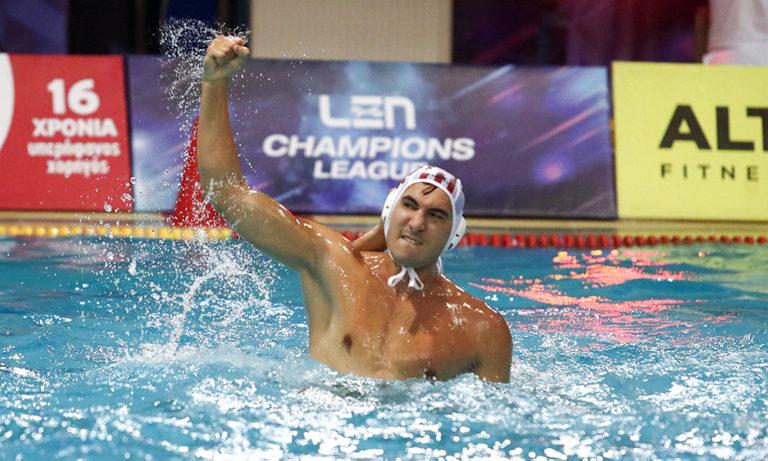 Ολυμπιακός – Νόβι 8-7: Και στην κακή του ημέρα κερδίζει!