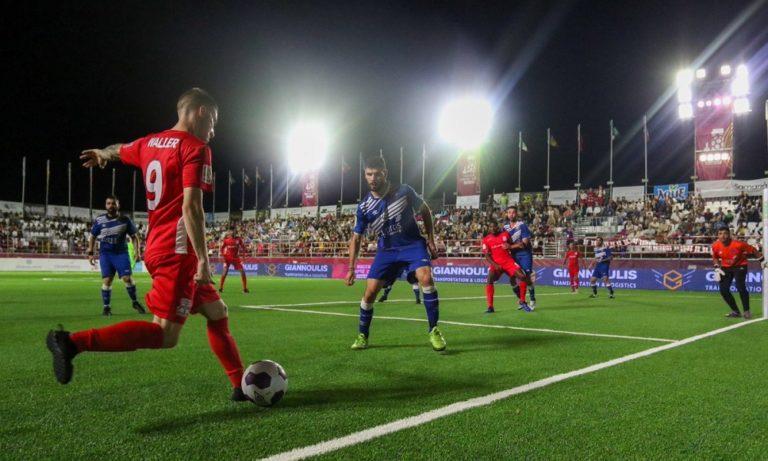 Socca World Cup: Ισοπαλία για την Ελλάδα – Με Λετονία για την πρόκριση (vid)