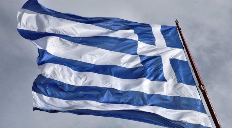 Γιγαντιαία ελληνική σημαία σε Χίο και Νέα Κίο (vids)