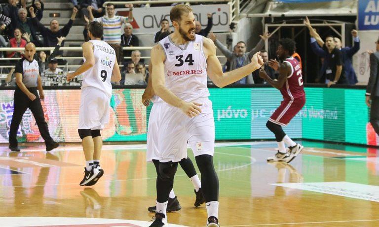 Σαρικόπουλος: «Δεν ήταν εύκολη νίκη»