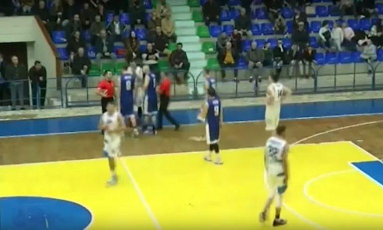 Αλβανία: Παίκτης έριξε… μπουκέτο σε διαιτητή, αποβάλλεται δια βίου! (vid)