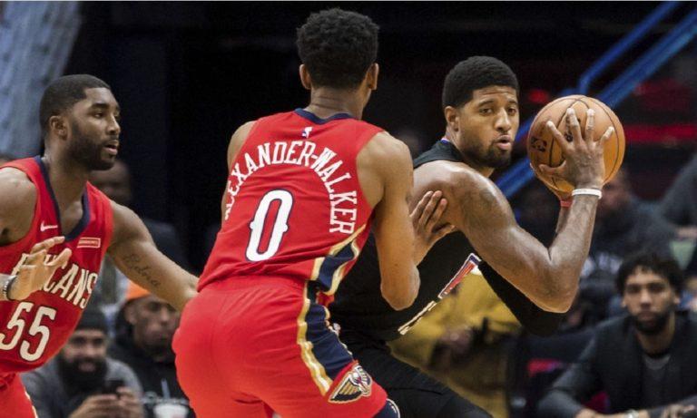 NBA: Ντεμπούτο με… τριάνταρα ο Πολ, ήττα οι Κλίπερς (vids)