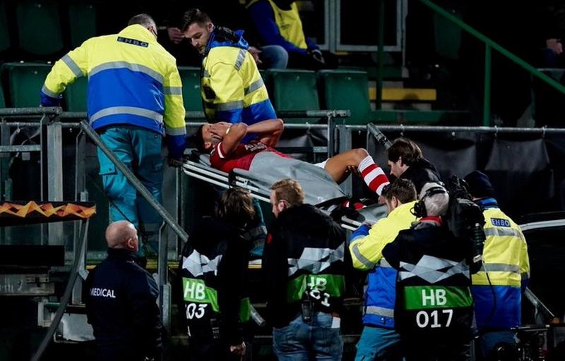 Χατζηδιάκος: Φόβοι για σοβαρό τραυματισμό (vid) - Sportime.GR