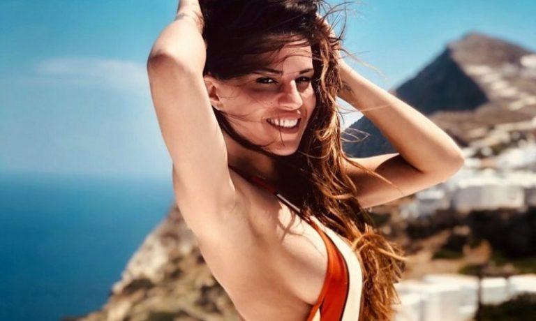Η Χριστίνα Κολέτσα κάνει ακόμη μπάνια και μας… αναστατώνει! (pics)