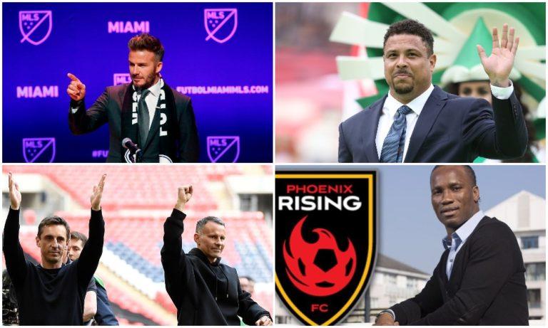 Ποδοσφαιρικοί θρύλοι: Πρόεδροι για μεγάλη «μπάλα»