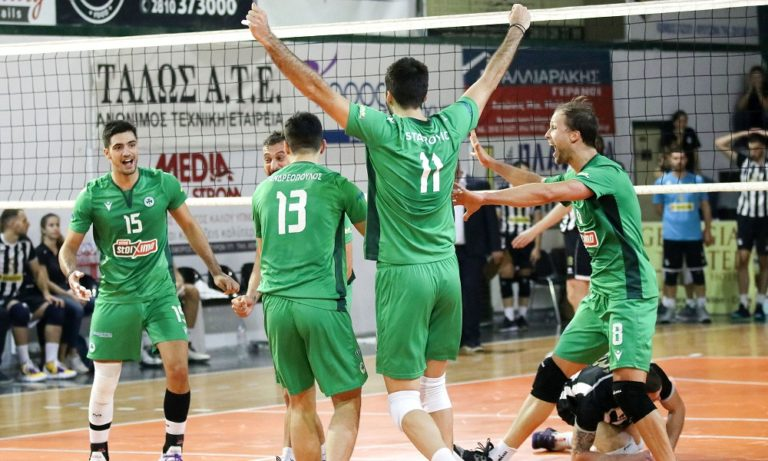 Volley League: Με το δεξί ο Παναθηναϊκός