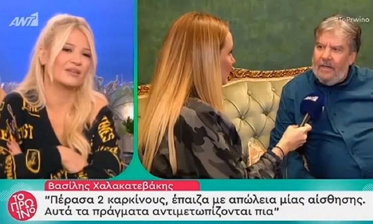 Χαλακατεβάκης: «Πέρασα 2 καρκίνους, έπαιζα με απώλεια αίσθησης» (vid)