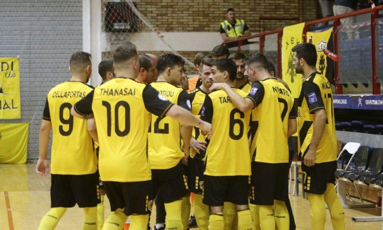 Futsal Super League: Συνεχίζει το απόλυτο η ΑΕΚ