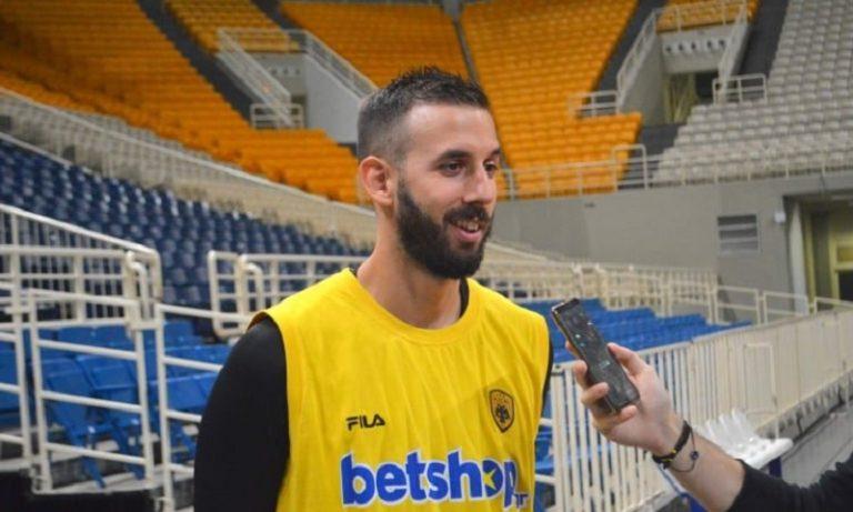 Γιάνκοβιτς: «Πολύ ενθουσιασμένος που ήρθα στην ΑΕΚ»