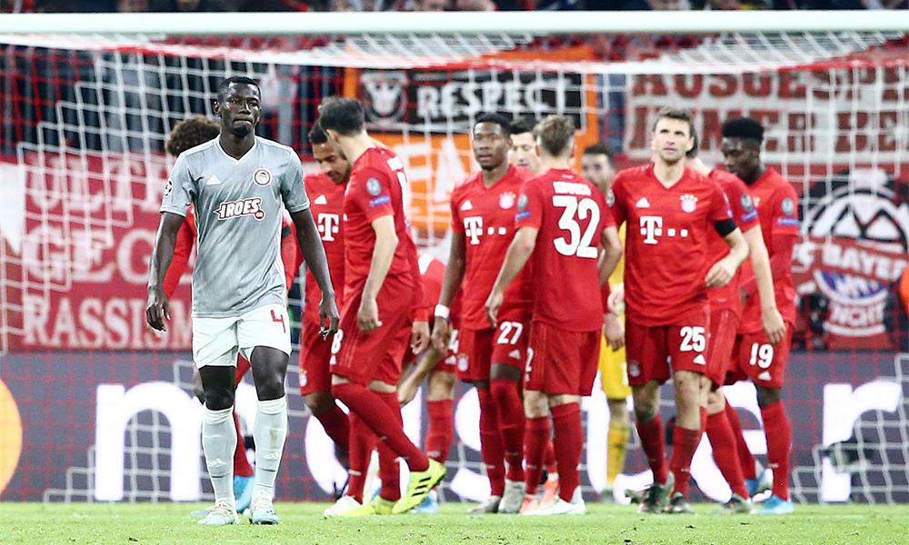 Μπάγερν – Ολυμπιακός 2-0: Τα γκολ και ο Σα (vid)