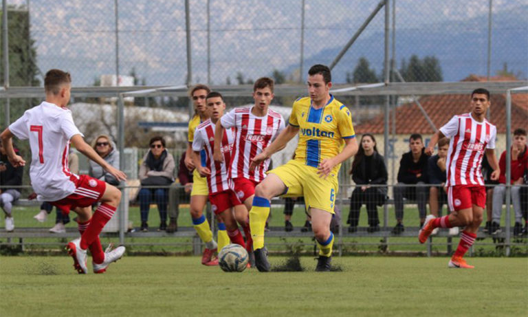Αστέρας Τρίπολης – Ολυμπιακός Κ15 0-0: «Λευκή» ισοπαλία